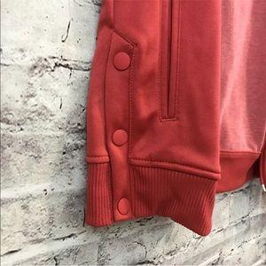 Adidas mujer talla S tricot tops de frente de cremallera chaqueta poshmark